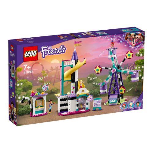 LEGO FRIENDS 41689 MAAGINEN MAAILMANPYÖRÄ JA LIUKUMÄKI