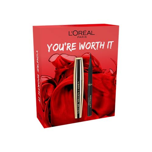LOREAL VOLUME MILLION LASHES+SUPER LINER PERFECT SLIM GIFT BOX