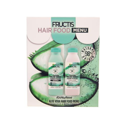 GARNIER FRUCTIS HAIR FOOD ALOE VERA GIFT BOX 700 ML