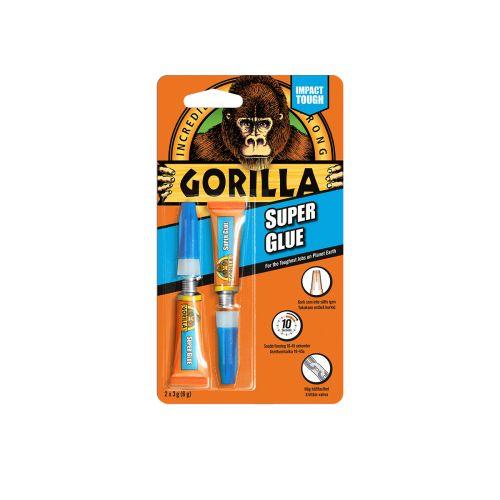 GORILLA SUPERGLUE PIKALIIMA 2X3GR 6 G