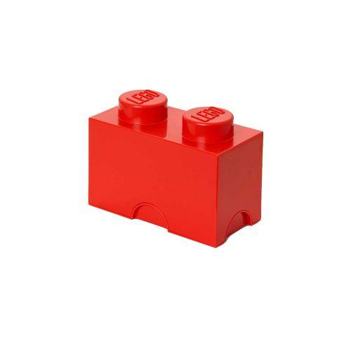 LEGO SÄILYTYSLAATIKKO 2 PUNAINEN 25X12,5X18CM