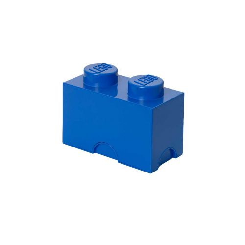 LEGO SÄILYTYSLAATIKKO 2 SININEN 25X12,5X18CM