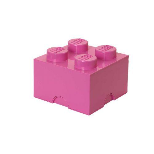 LEGO SÄILYTYSLAATIKKO 4 PINKKI 25X25X18CM