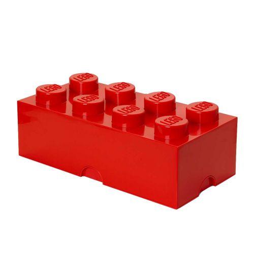 LEGO SÄILYTYSLAATIKKO 8 PUNAINEN 50X25X18CM