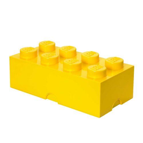 LEGO SÄILYTYSLAATIKKO 8 KELTAINEN 50X25X18CM