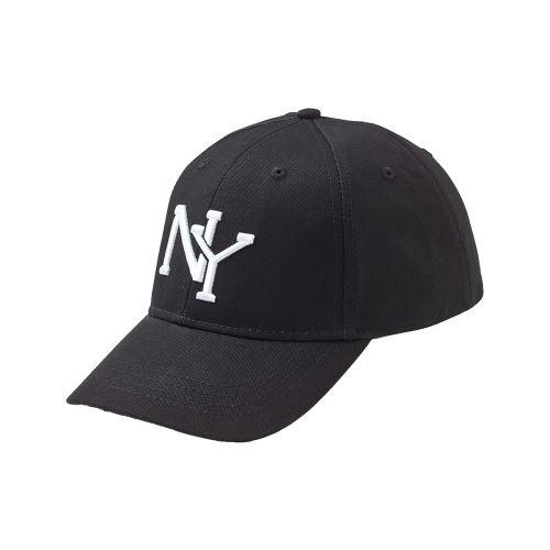STATEWEAR LIPPALAKKI NEW YORK H BASEBALL VELCRO ONESIZE MUSTA