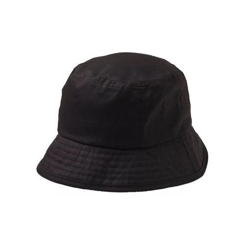 STATEWEAR HATTU STONE BUCKET HAT S/M MUSTA