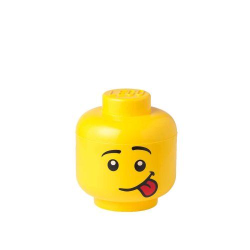 LEGO SÄILYTYSLAATIKKO PÄÄ PIENI SILLY 16X19,3CM