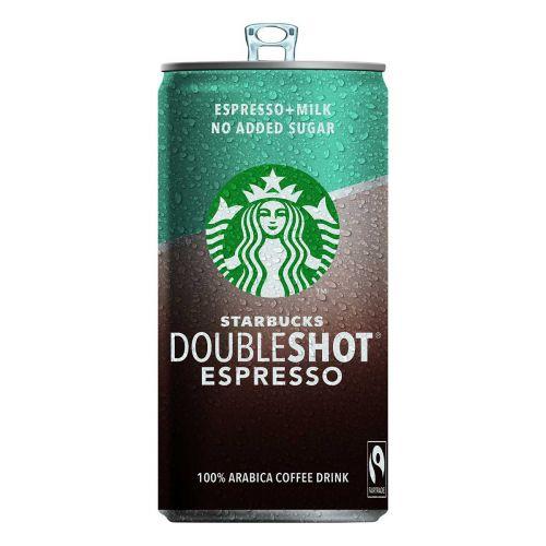 STARBUCKS DOUBLESHOT ESPRESSO NO ADDED SUGAR 200 ML