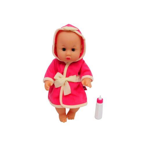 Happy Friend Emma Baby Nukke 30cm Kylpytakissa