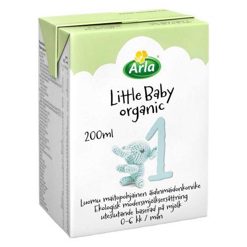 ARLA LITTLE BABY ORGANIC 1 LUOMU ÄIDINMAIDONKORVIKE 200 ML
