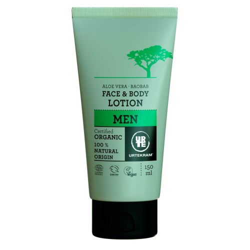 URTEKRAM MEN FACE & BODY LOTION 150 ML