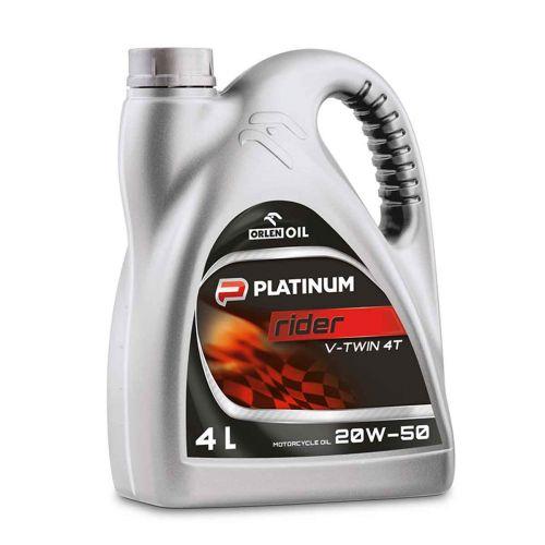 ORLEN PLATINUM RIDER V-TWIN 4T 20W-50  B4L 4 L