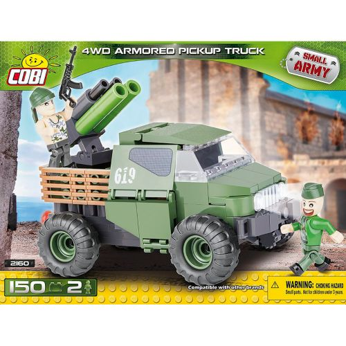 COBI Small Army Armoured Truck, 150 osaa