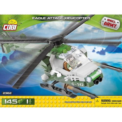 COBI Eagle Attack helikopteri 150kpl
