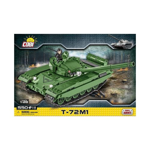 COBI SMALL ARMY T72-M1 550 OSAA