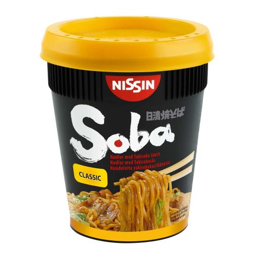 NISSIN SOBA CUP CLASSIC NUUDELI 90 G