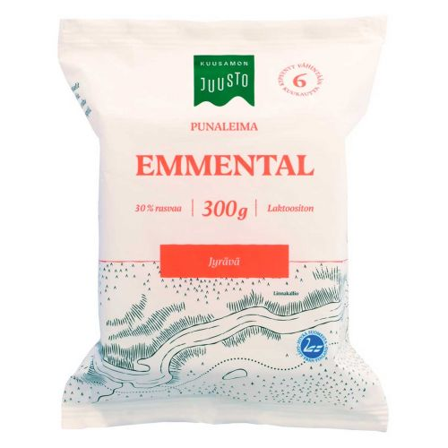 KUUSAMON EMMENTAL PUNALEIMA 300 G