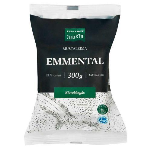 KUUSAMON EMMENTAL MUSTALEIMA 300 G