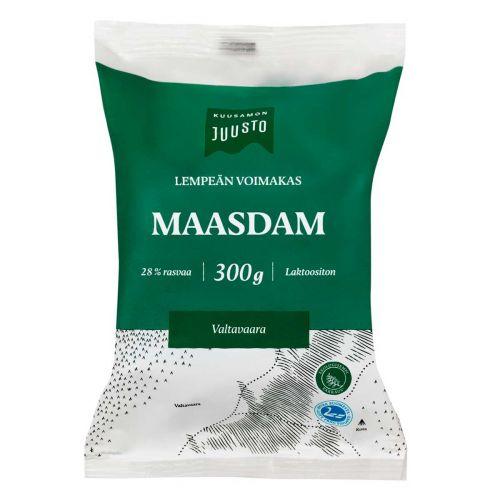 KUUSAMON LEMPEÄN VOIMAKAS MAASDAM 28% 300 G