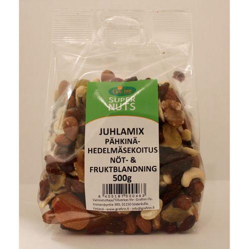 SUPER NUTS JUHLAMIX 500 G