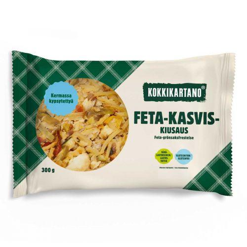 KOKKIKARTANO FETA-KASVISKIUSAUS 300 G