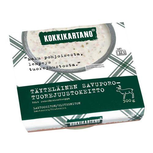 KOKKIKARTANO TÄYTELÄINEN SAVUPORO-TUOREJUUSTOKEITTO 300 G