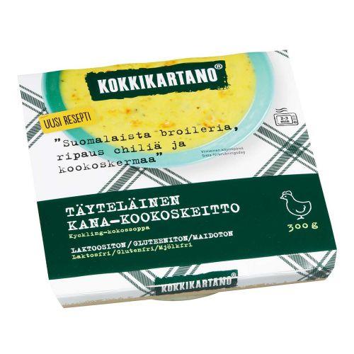 KOKKIKARTANO TÄYTELÄINEN KANA-KOOKOSKEITTO 300 G