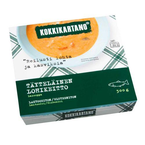 KOKKIKARTANO TÄYTELÄINEN LOHIKEITTO 300 G