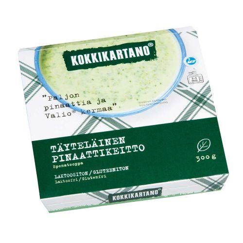 KOKKIKARTANO TÄYTELÄINEN PINAATTIKEITTO 300 G