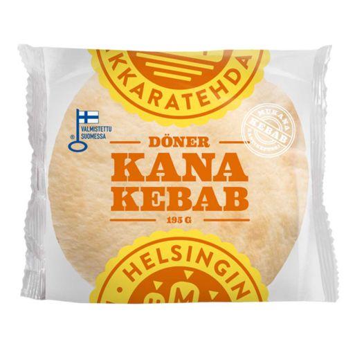 HELSINGIN MAKKARATEHDAS DÖNER KANAKEBAB 195 G