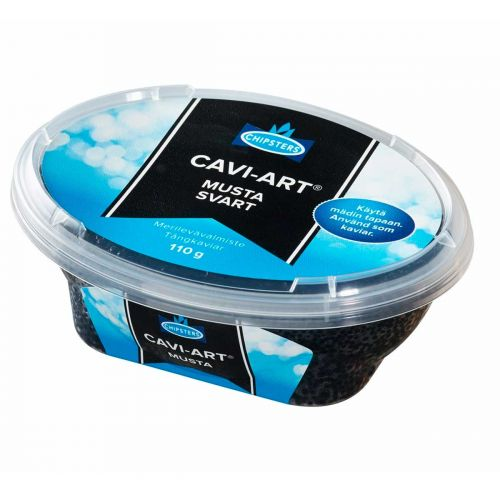 CHIPSTERS CAVI-ART MUSTA 110 G