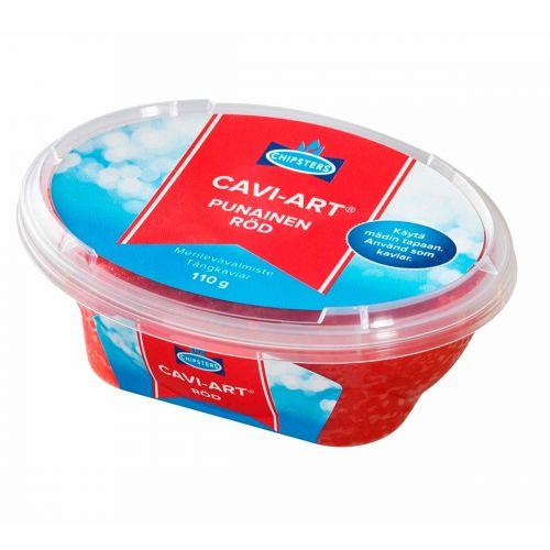 CHIPSTERS CAVI-ART PUNAINEN 110 G