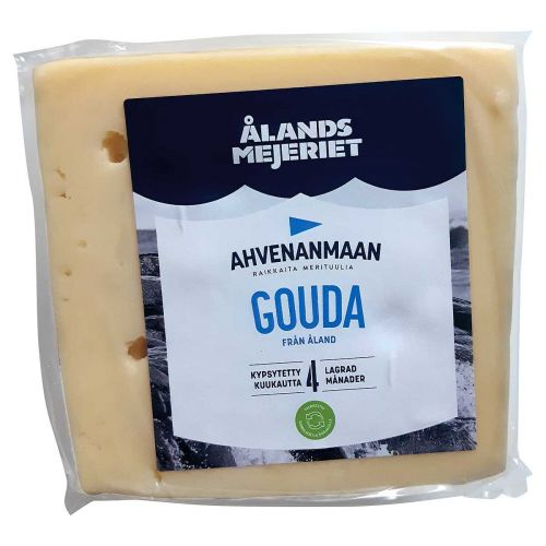 AHVENANMAAN GOUDA 4KK KYPSYTETTY 350 G