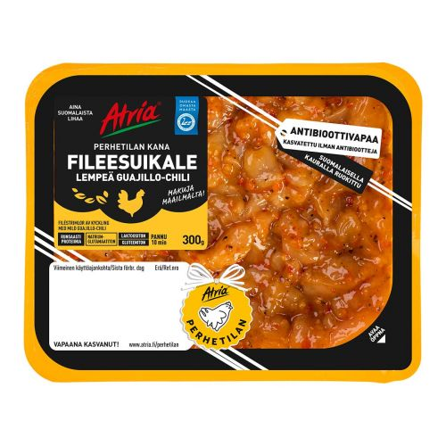 ATRIA PERHETILAN KANA FILEESUIKALE LEMPEÄ GUAJILLO-CHILI 300 G