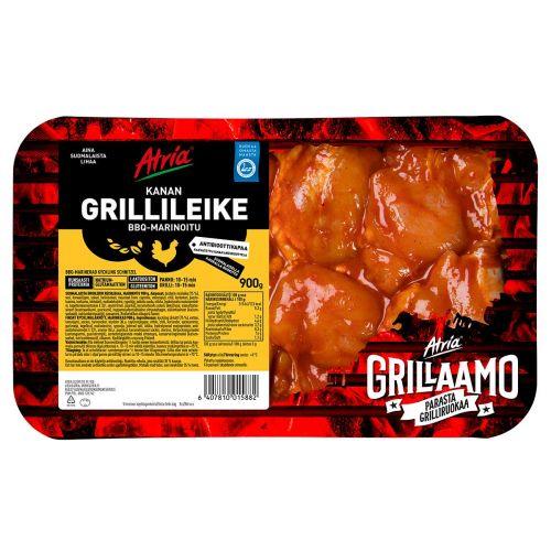 ATRIA KANAN GRILLILEIKE BBQ-MARINOITU 900 G