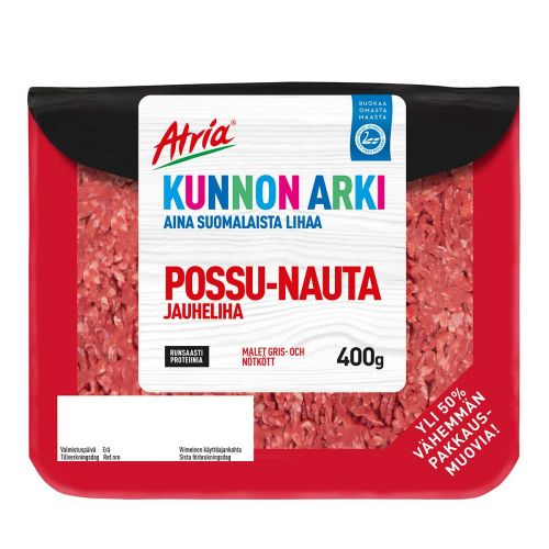 ATRIA KUNNON ARKI POSSU-NAUTA JAUHELIHA 23% 400 G