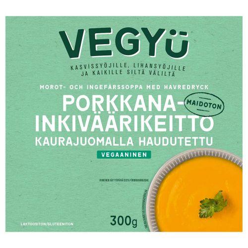 VEGYU PORKKANA-INKIVÄÄRIKEITTO 300 G
