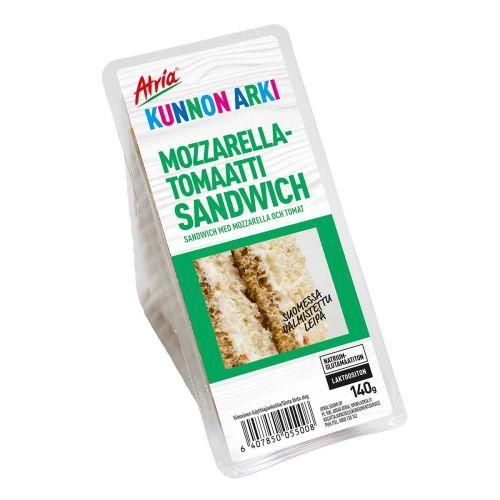 ATRIA KUNNON ARKI MOZZARELLA-TOMAATTI SANDWICH 140 G