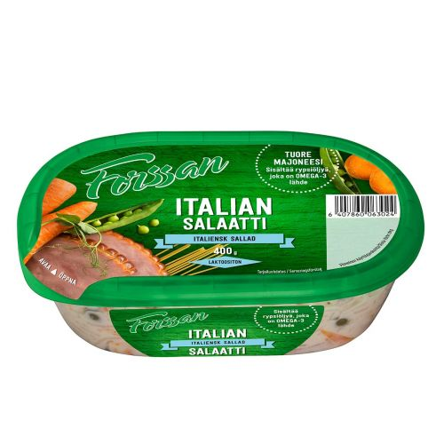 FORSSAN ITALIANSALAATTI  400 G