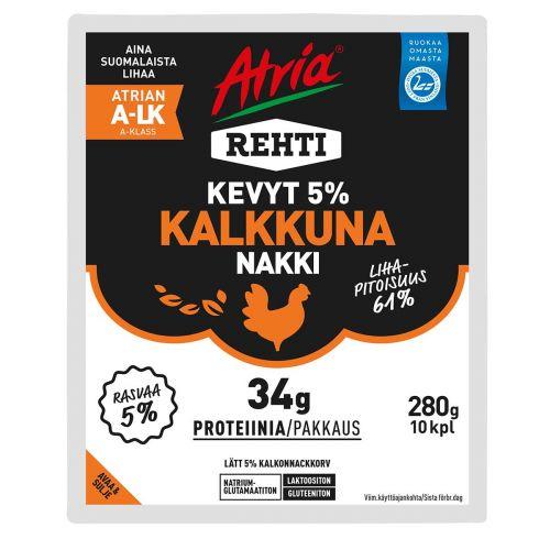 ATRIA REHTI KEVYT 5% KALKKKUNANAKKI 280 G
