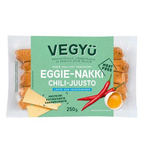 VEGYU EGGIE CHILI-JUUSTO NAKKI 250 G