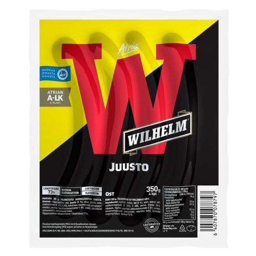ATRIA WILHELM JUUSTOGRILLIMAKKARA 350 G