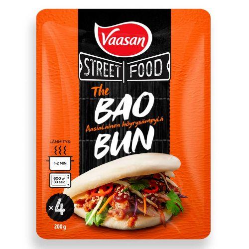 VAASAN STREET FOOD THE BAO HÖYRYSÄMPYLÄ 4KPL 200 G