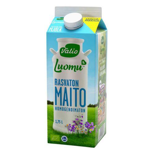 VALIO LUOMU RASVATON MAITO  1,75 L