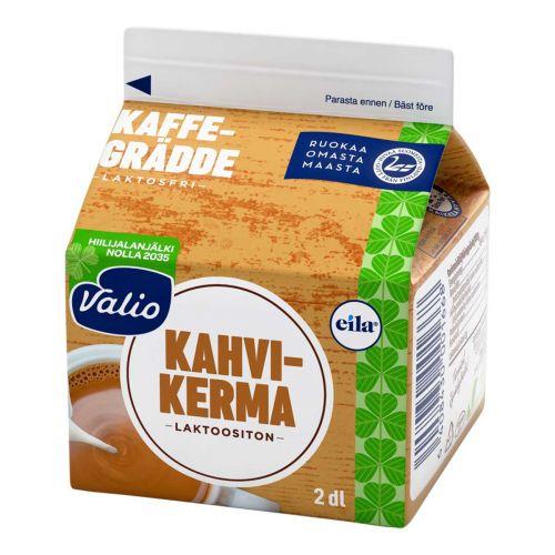 VALIO KAHVIKERMA LAKTON 2DL 200 ML