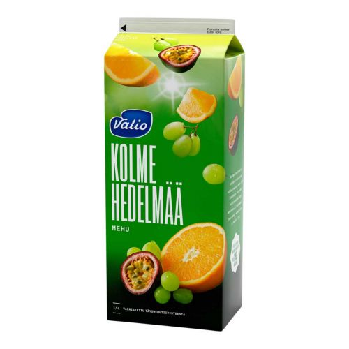 VALIO 3 HEDELMÄN MEHU 1,5 L