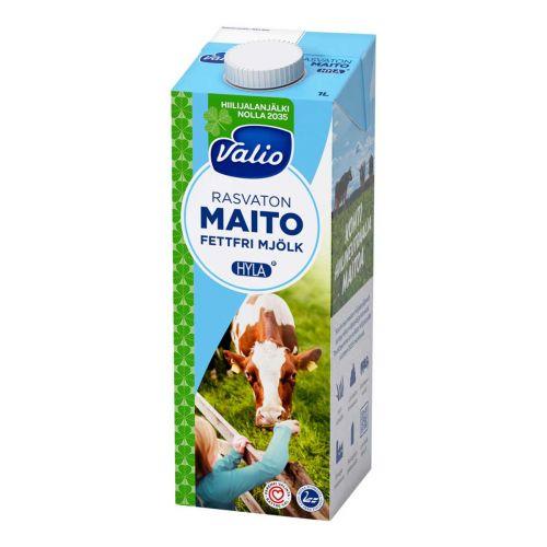VALIO HYLA RASVATON MAITO UHT 1L
