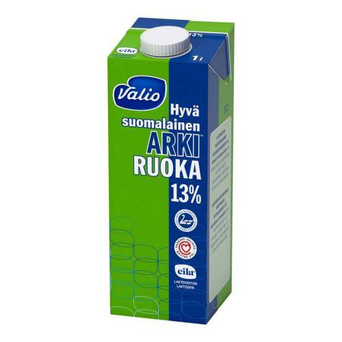 VALIO ARKI RUOKA 13% UHT LAKTON 1L
