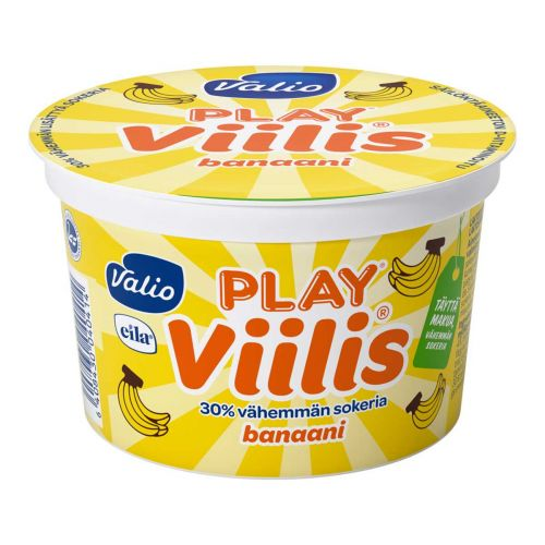 VALIO PLAY VIILIS BANAANI LAKTON 200 G